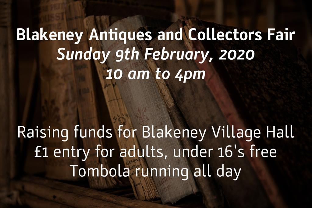 Antique Collectors Fair 9th February 2020